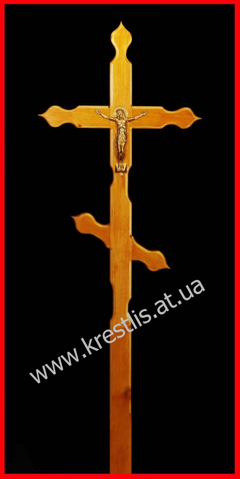 Крест могильный своими руками